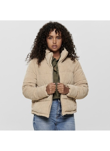 Only Only Cole Padded Corduroy Mont Ekru